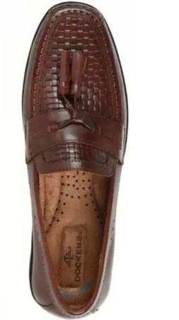 Dockers Mens Hillsboro Antique Brown Leather Tassled Loafer