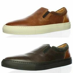 Frye Mens Owen Gore Leather Loafers