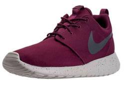 Men's Nike Roshe One SE Running Shoes in Bordeaux 844687 6