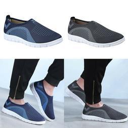 Mens Run Casual Slip-On Sport Shoes Sneaker Comfortable Foot