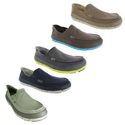 Crocs Mens Stretch Sole Slip On Loafer Shoes