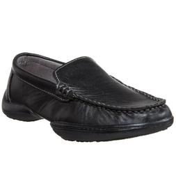 Boy's Kenneth Cole Reaction 'Driving Dime' Moccasin Black 6.