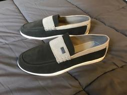 Navy Loafers Globe Shoes Size 11 New Never Worn