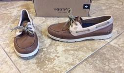 NEW $95 SPERRY TOP-SIDER MEN SIZE 8.5 LEATHER BOAT SHOE LOAF