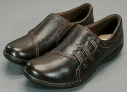 NEW Clarks Ashland Effie Women's 7.5 M Leather Comfort Flats