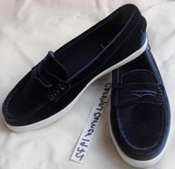 NEW AUTH COLE HAAN WOMENS NANTUCKET LOAFER II SHOES NAVY BLU