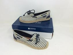 New In Box! Women's Sperry Top-Sider Katama Stripe Nvy/White
