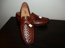 New Men's Dockers Hillsboro Slip On Brown Loafers With Memor