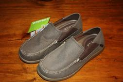 NEW Crocs Men's Santa Cruz 2 Luxe Slip-on Brown Loafer Espre