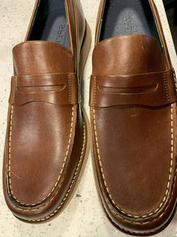 New Mens Sperry Top Sider Brown Kennedy Varsity Penny Loafer