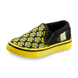 NEW! Despicable Me Toddler Unisex Minions Slip On Loafers Ye