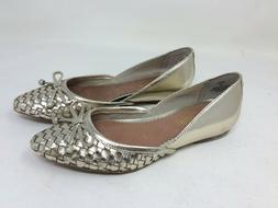 New!  w/defect Women's Sperry Top-Sider Morgan Platinum Wove