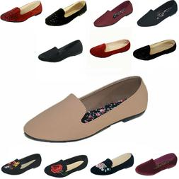 New Women Ballet  Flats Shoes Casual Comfort Slip On Boat  L