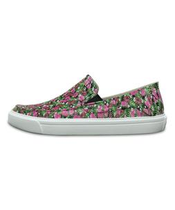New Women's Crocs Floral CitiLane Roka Slip-On Sneaker Loafe