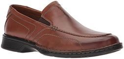 Clarks Men's Northam Race Shoe, brown leather, 9 Medium US