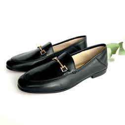 NWB Sam Edelman Loraine Bit Leather Loafers Black Size 9.5US
