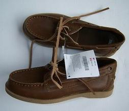 NWT Gymboree Holiday Traditions Sz 1 Brown Loafers Boat Deck