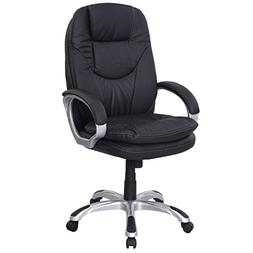 PU Leather Ergonomic Chair Office Task Executive Computer De