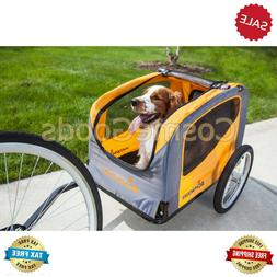 Schwinn Rascal Bike Pet Trailer, Orange Gray For Small and L