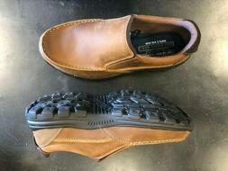 """Skechers Relaxed Fit """"Braver Rayland CDB"""" Men's Leather Slip"""