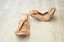 Yosi Samra Samara Flats - Women's Size 10, Rose Gold