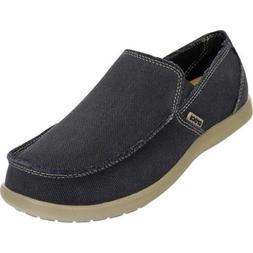 Crocs Santa Cruz Mens Loafers Comfort Slip-On Shoe Size 7 Bl