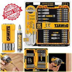 30-Piece Screwdriver Drill Bit Set Case Hex Magnetic Slotted