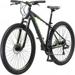 "29"" Mens Schwinn Shimano mountain-style Green/Black 21-speed"