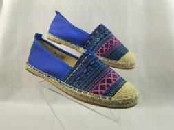 Bella Marie Shoes Women's Size 8.5 Fashion Slip On Blue Loaf