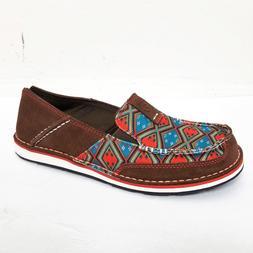 Ariat Shoes womens 8 med Leather Cruiser Slip On Southwester