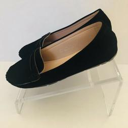 Bella Marie Size 8 Shoes Flats Black Loafers New without box
