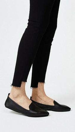 Yosi Samra Skyler Convertible loafers Black Leather size 8 F