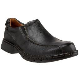 Men's Clarks 'Un. seal' Slip-On, Size 11 W - Black