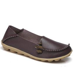 soft leather comfort driving loafers