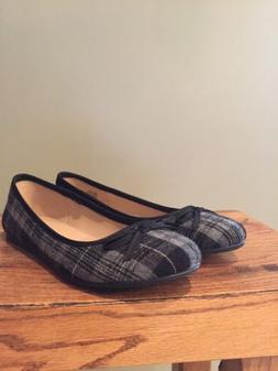 Sonoma Life + Style Junior Black Paid  Slip On Loafer Ballet