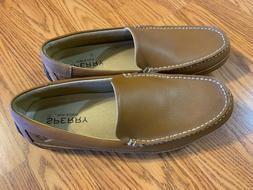 Sperry Men's Hampden Venetian Slip-On Loafer, SAHARA TAN, 11
