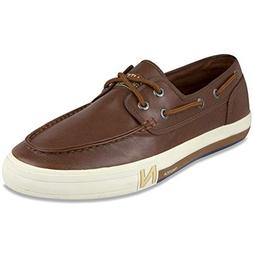 Nautica Men's Spinnaker Lace-Up Boat Shoe, Casual Loafer, Fa