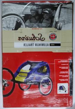 SCHWINN SPIRIT BIKE/BICYCLE TWIN/DOUBLE/2 CHILD ALUMINUM TRA