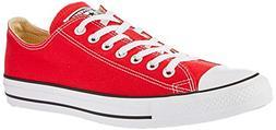 star chuck taylors ox red