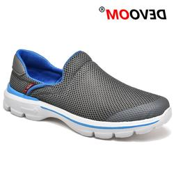 Summer Shoes Men Creepers Slip on Mens Shoes Casual Air Mesh