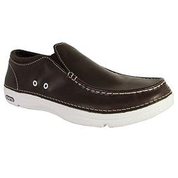 Crocs Mens Thompson II.5 Low Moc Toe Loafer Shoes, Espresso/