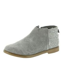 TOMS Women's Classic Slip-On  US, Steel-Grey)