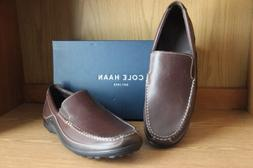 NEW COLE HAAN TUCKER VENETIAN LOAFER SLIP ON SZ 10 MEN FRENC