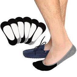 Ultra Low No Show Socks Men Invisible Non Slip Liner Socks C