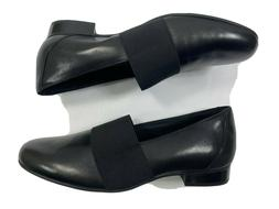 Clarks Un Blush Lo Black Leather Loafers Women's Size 8.5M U