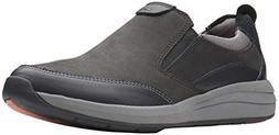 CLARKS Men's Un Coast Walk Loafer, Black Combination Leather