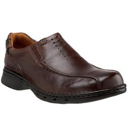Clarks Unstructured Men's Un.Seal Casual Slip On,Brown,14 M
