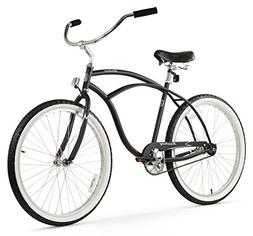 Firmstrong Urban Man Single Speed Beach Cruiser Bicycle, 26-