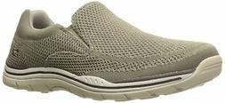 Skechers USA Men's Expected Gomel Slip-on Loafer,Taupe,10 M