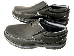 Skechers USA Men's Segment The Search Slip On Loafer, Black